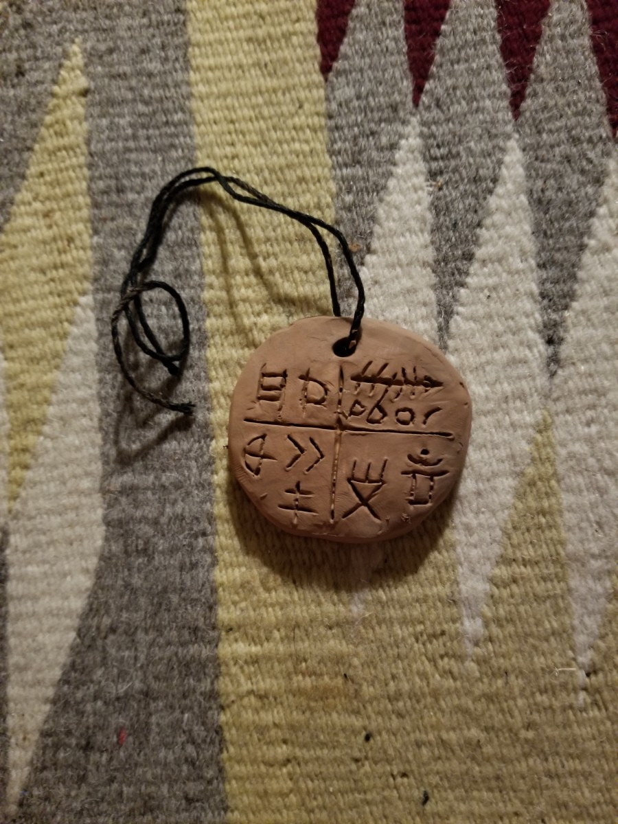 A Reproduction of the Tărtăria Calendar Amulet