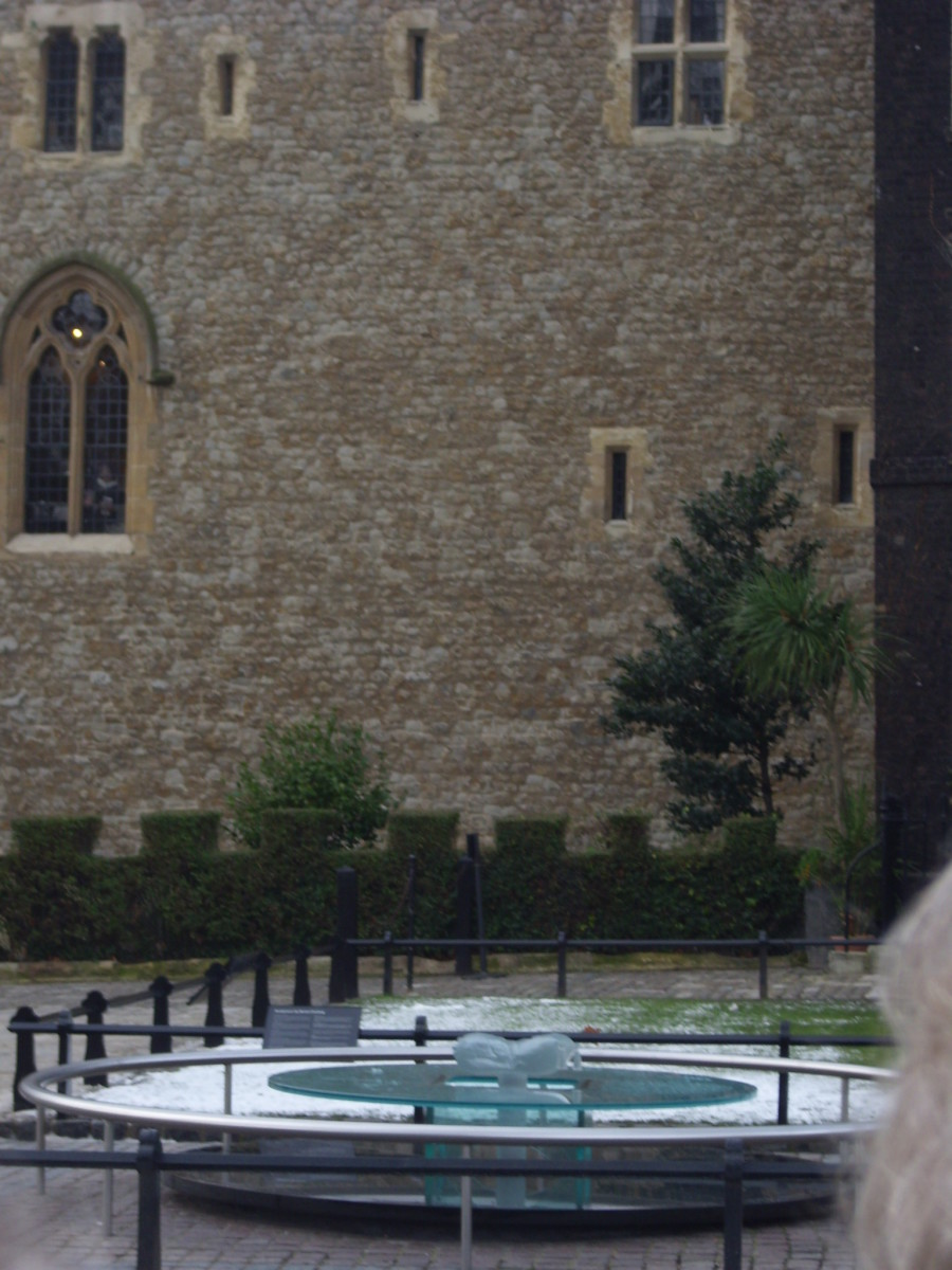 Where Anne Boleyn lost her head.