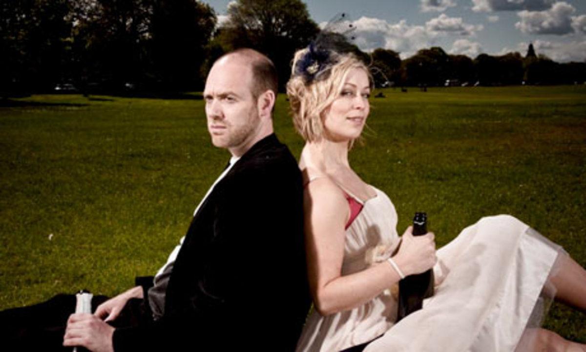 Matthew Pidgeon and Cora Bissett  Photograph: Euan Myles  (no copyright intended)