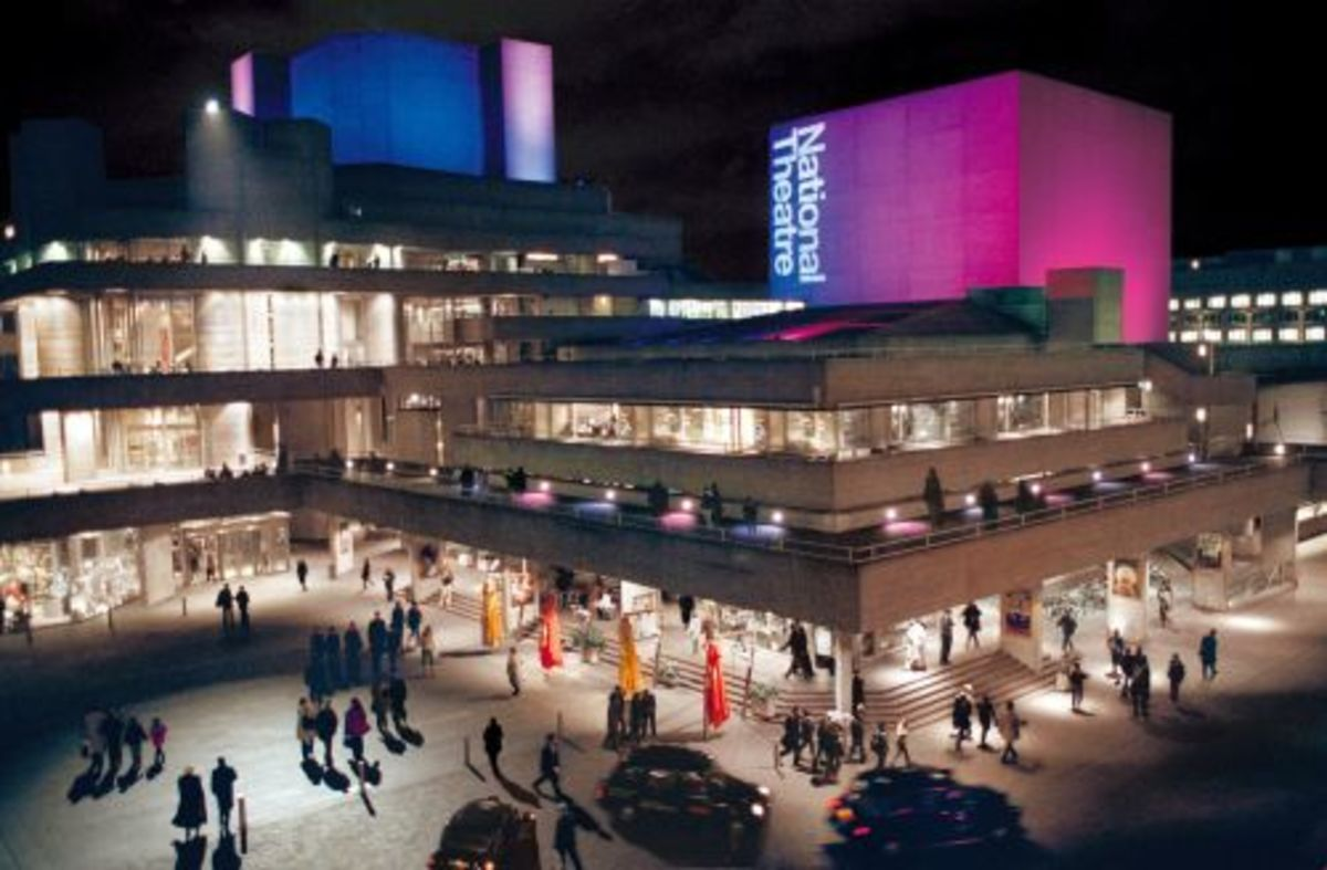 National Theatre, London   Photo Source: www.southbanklondon.com  (no copyright intended)