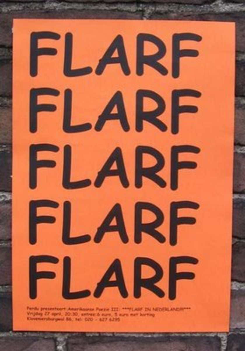 Flarf Poetry- Examples of Poetic Collages of Borrowed Words and Phrases
