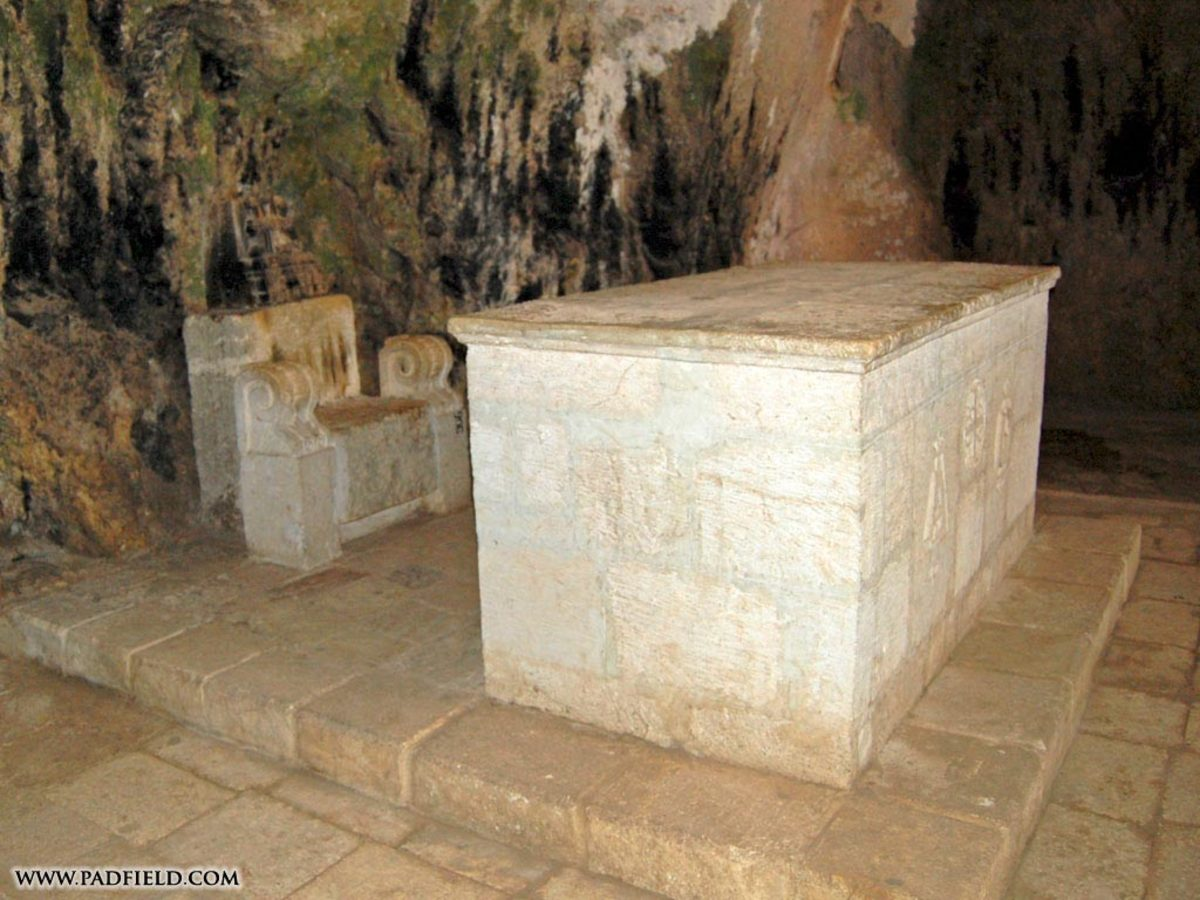 PETER'S THRONE AT ANTIOCH
