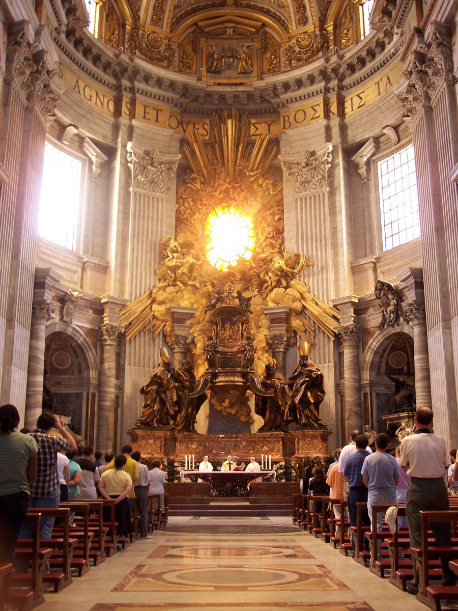 THE POPE'S CHAIR