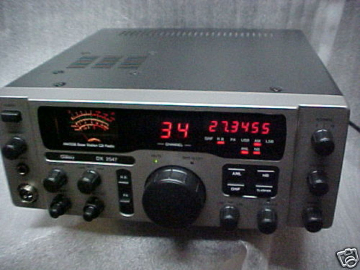Setting Up A CB Radio: Home Base Station and Old Mobile SideBand AM Band Radio Channel