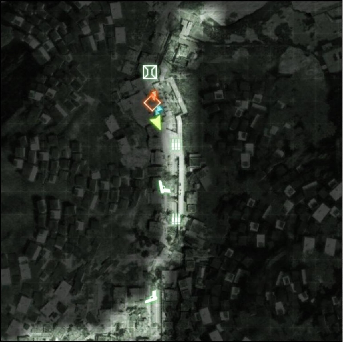 Map: Zero Dark Thirty M-COM 04.