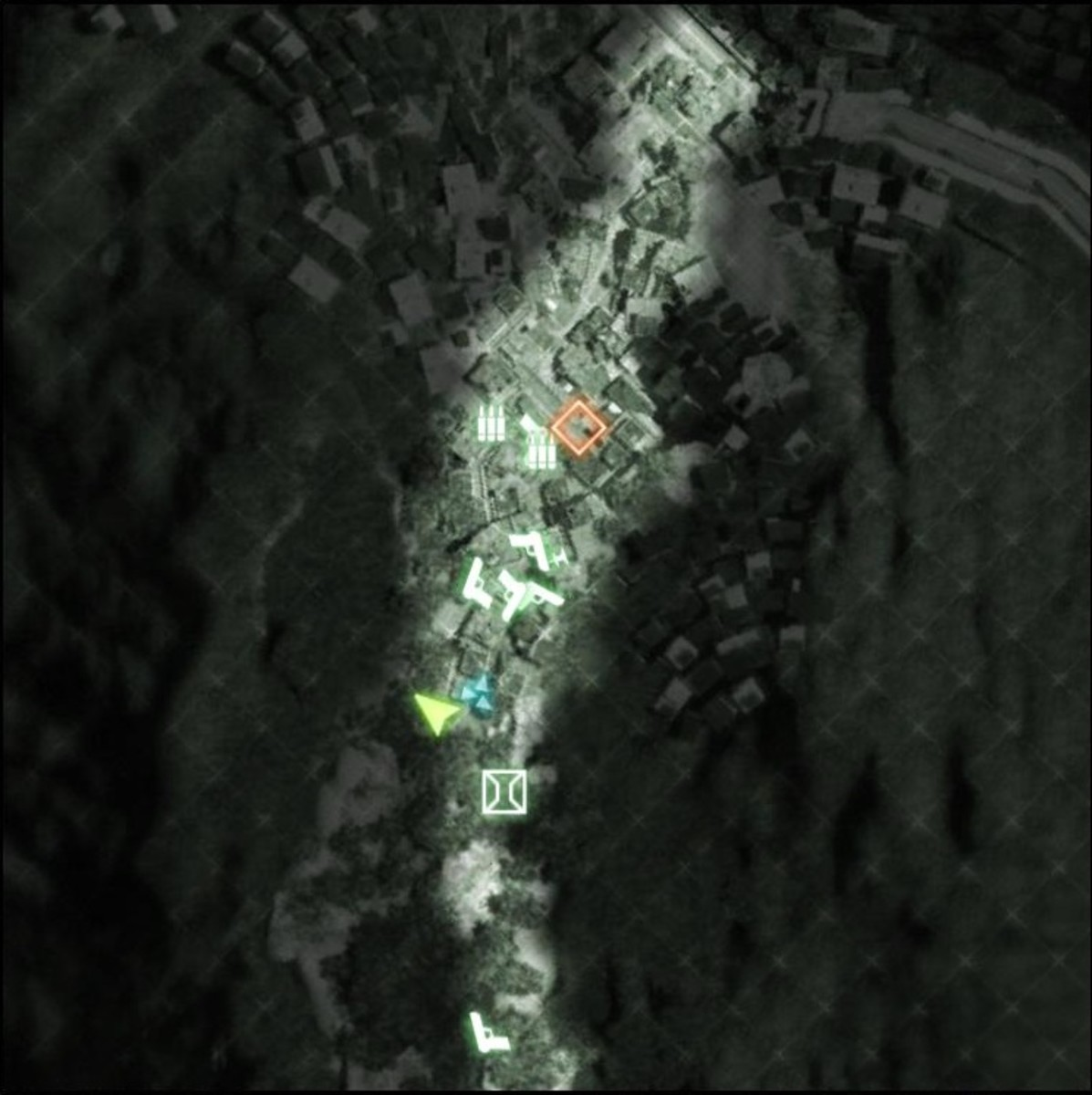 Map: Zero Dark Thirty M-COM 01.