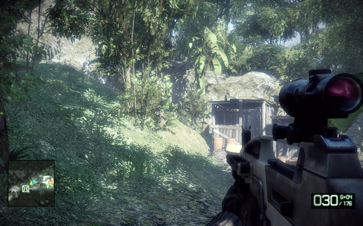 Gameplay: Zero Dark Thirty M-COM 01.