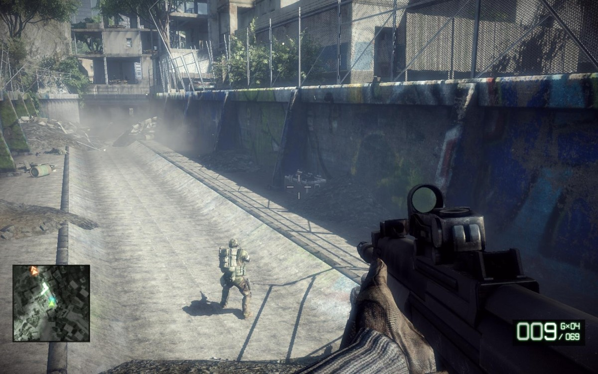 Gameplay: Zero Dark Thirty M-COM 02.