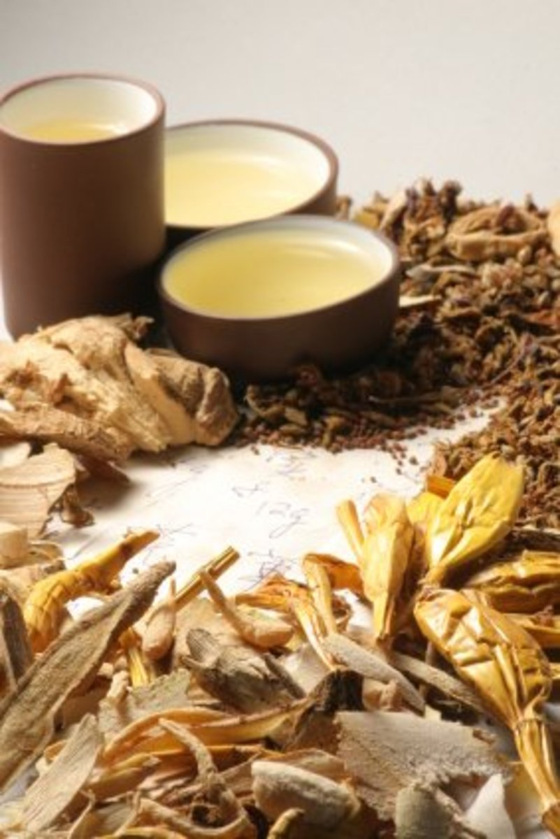 Chinese Herbs are healing.