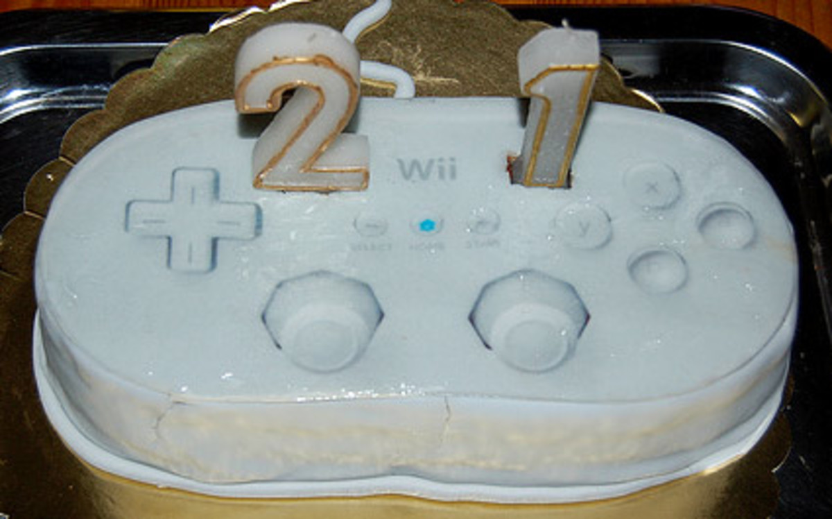 Wii Classic Controller Cake