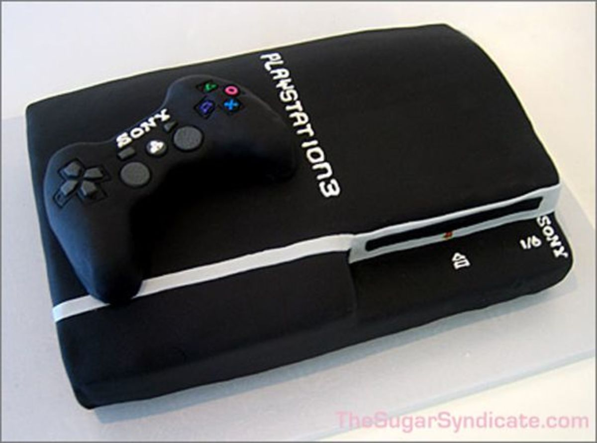 PlayStation 3 Cake (image from The Sugar Syndicate via Flickr)