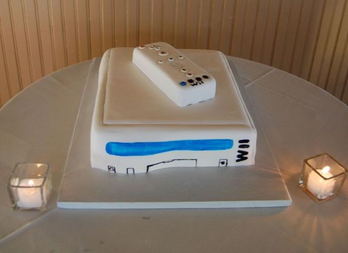 Wii Cake (image from adampsyche via Flickr)