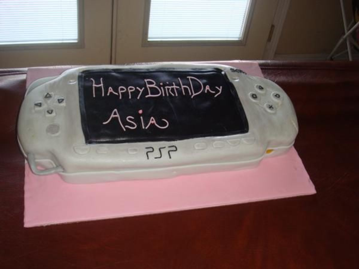 PSP Birthday Cake (BROWN SUGA CAKES)