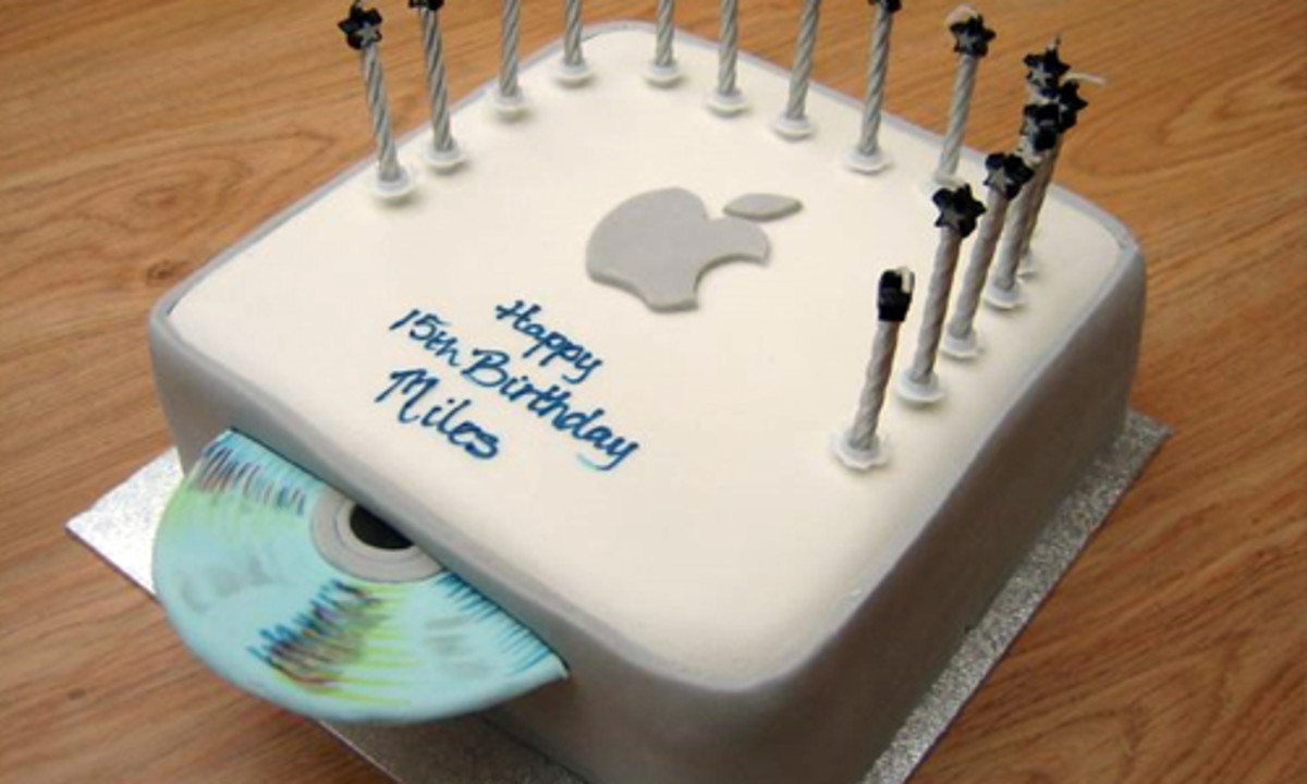 Mac Mini Birthday Cake