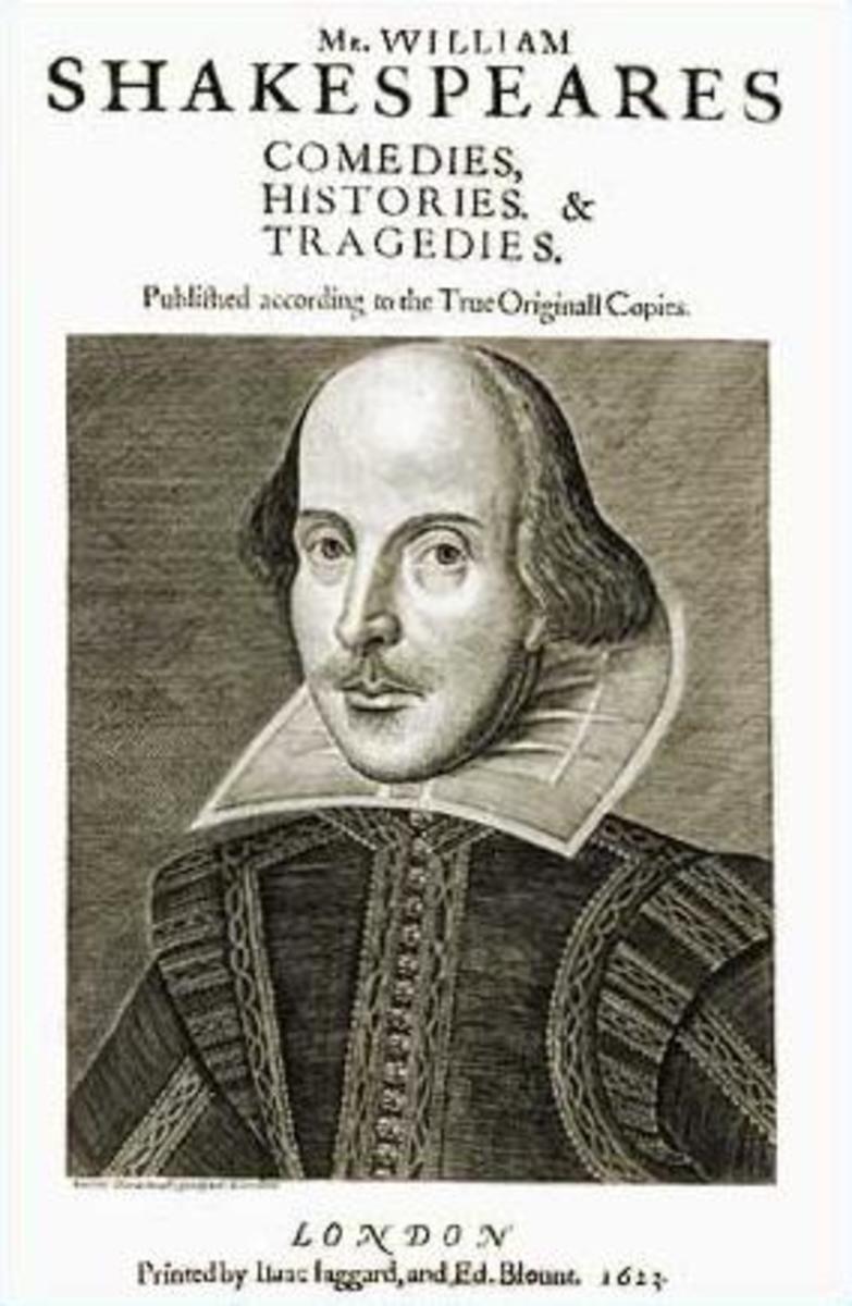 Image Source: http://en.wikipedia.org/wiki/File:First_Folio.jpg