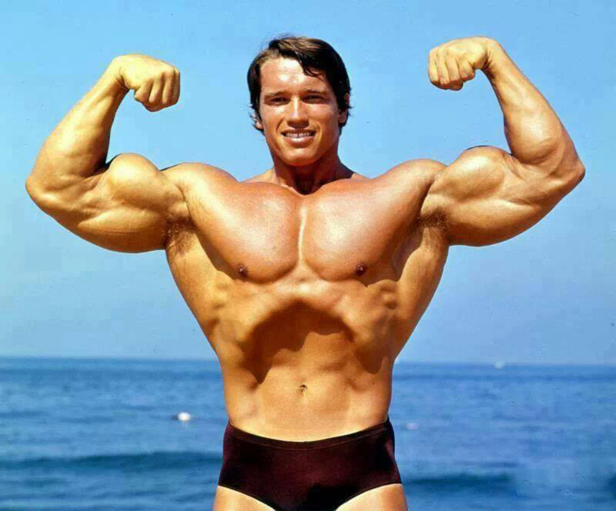 Arnold Schwarzenegger in the 1970s