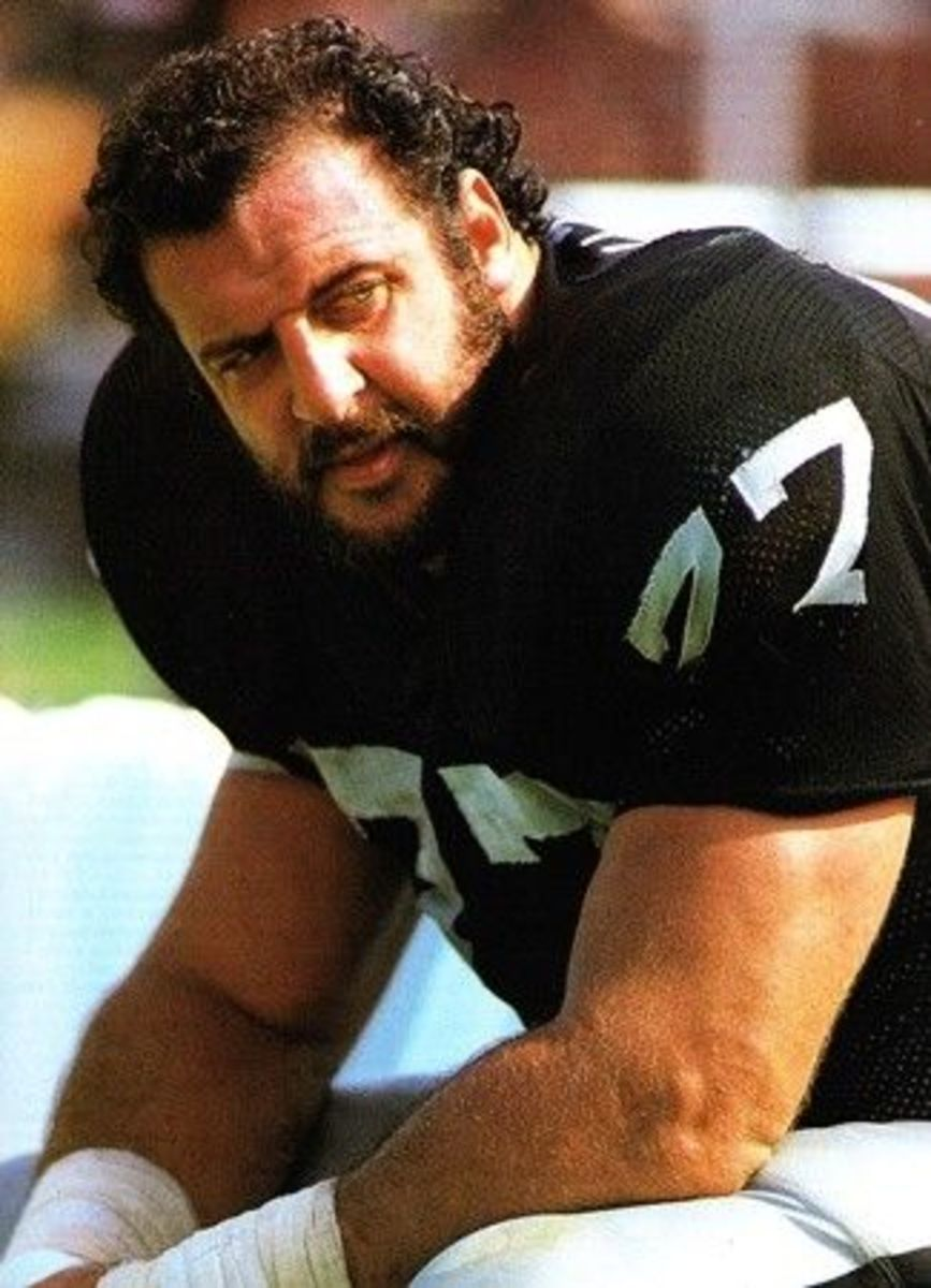 Lyle Alzado when playing NFL football