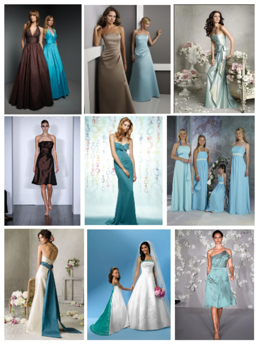 Bridesmaid Dress Suggestions from Here Comes The Blog