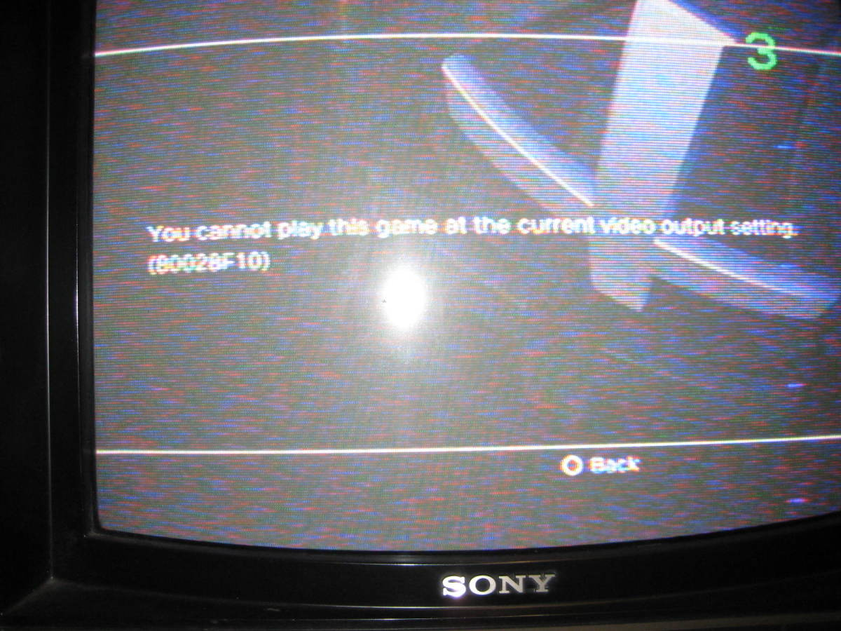 PS3 VIDEO ERROR CODE 80028F10 SOLUTION