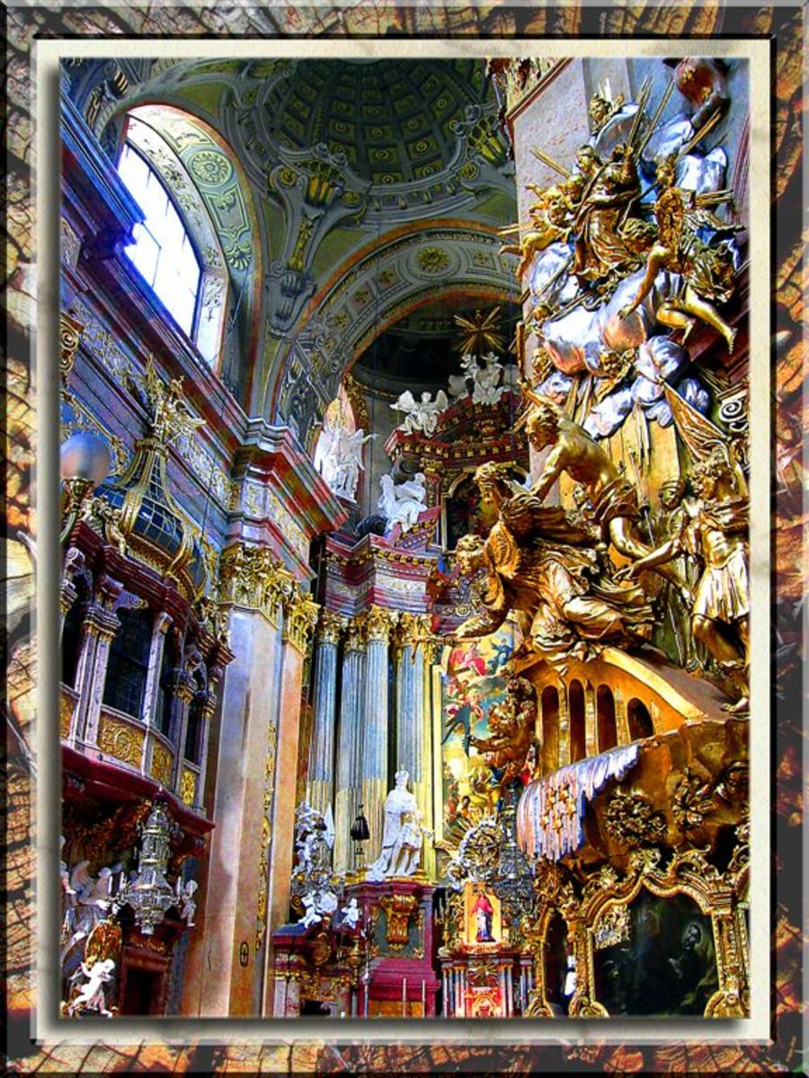 BAROQUE VIENNA CATHEDRAL