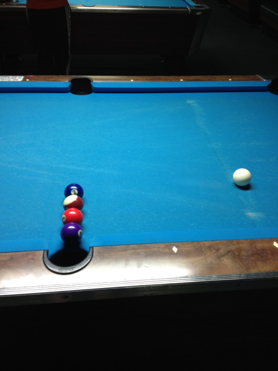 Billiard Trick Shots: How to Pocket 4 Pool Balls in 1 Shot
