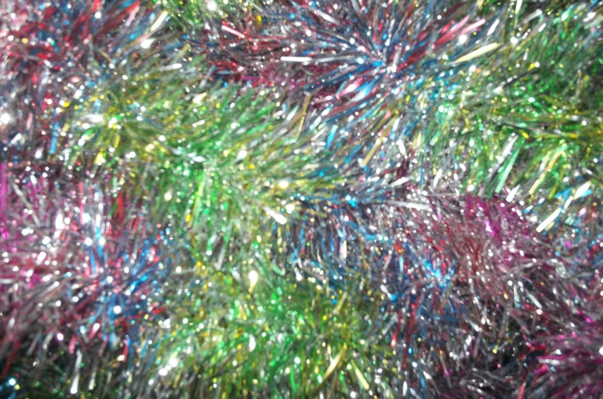 Multi-colored garland