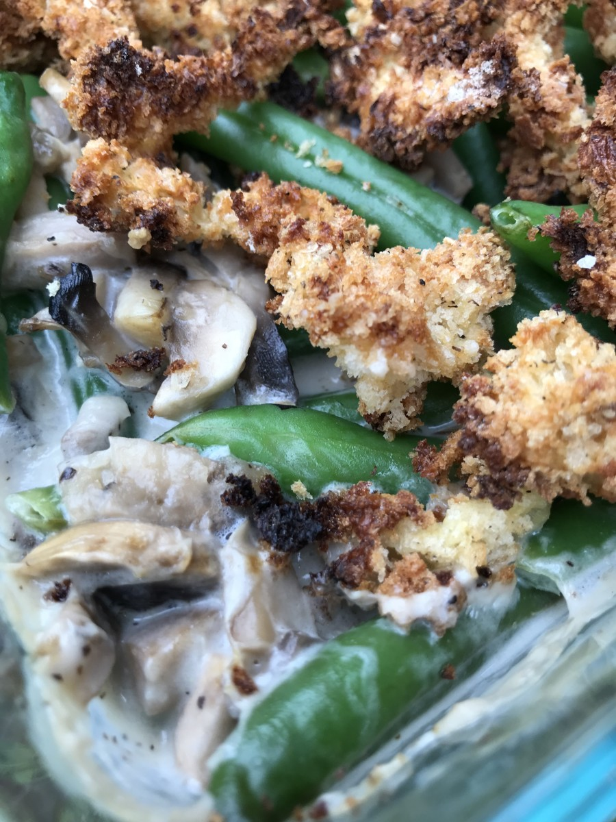 This homemade green bean casserole recipe is so incredible you'll be a convert. It doesn't take all that much more effort than using frozen or canned products, just a bit of time and a little attention. You'll be a rock star in the kitchen!