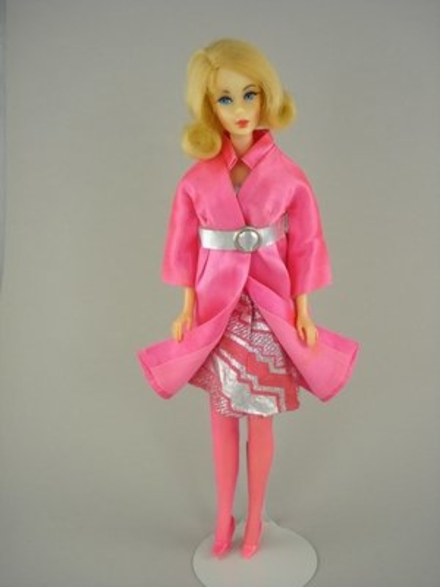 Barbie in Silver 'n Satin