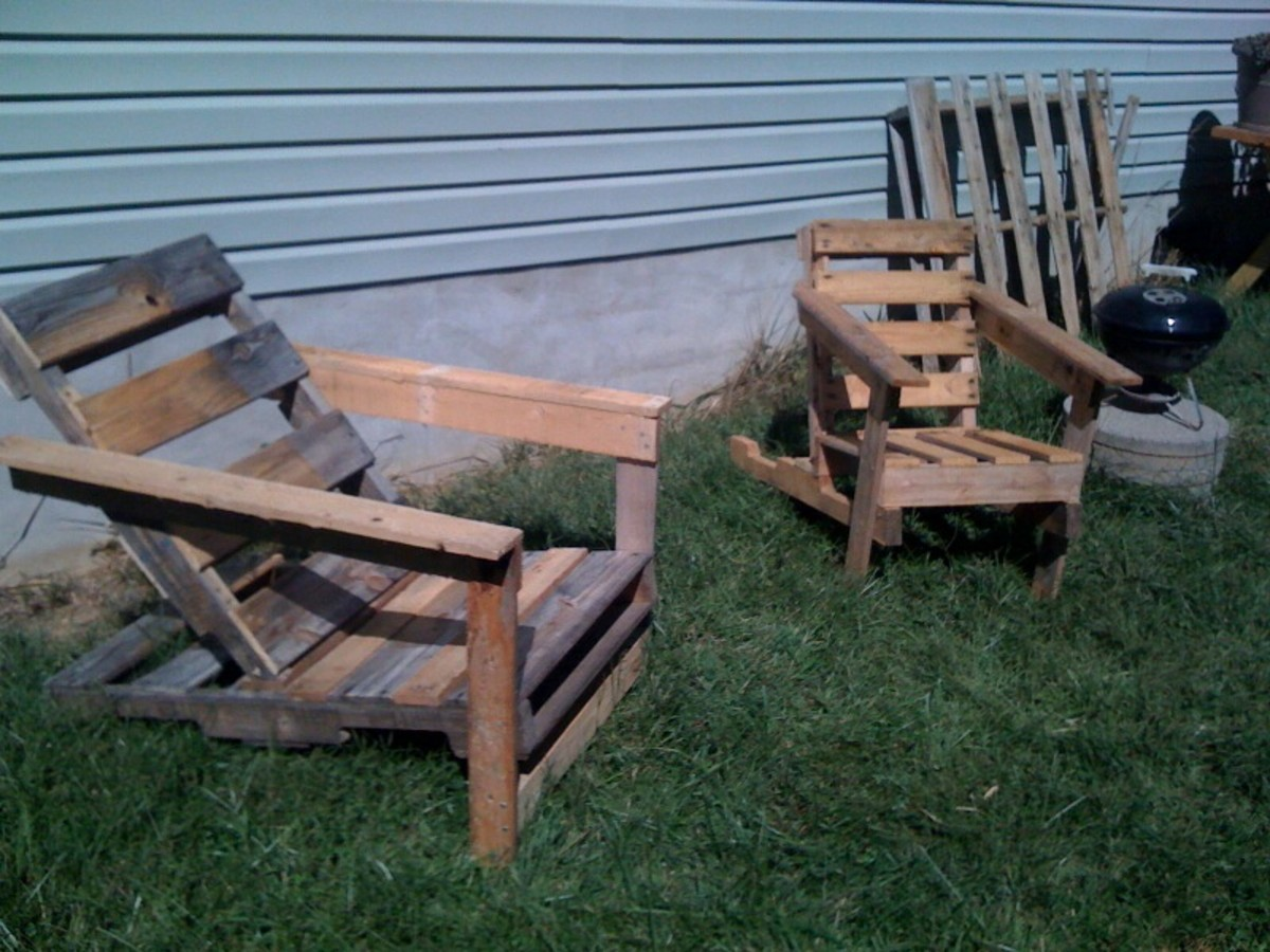 Yard furniture!