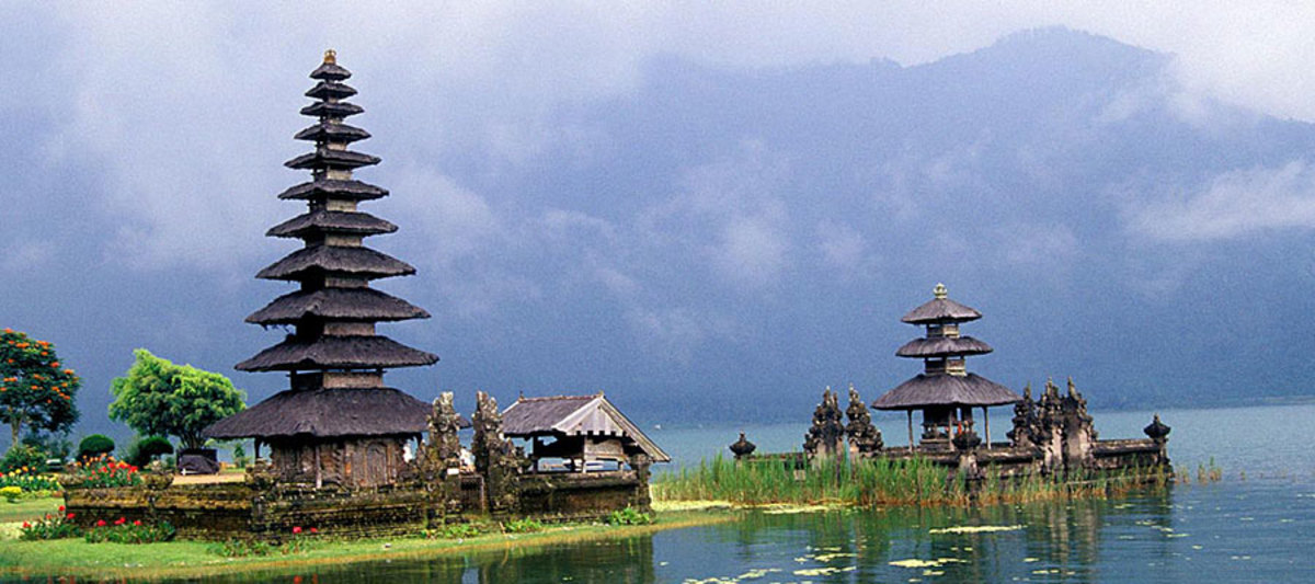 Bali in Indonesia, one of Asian best tourist destination