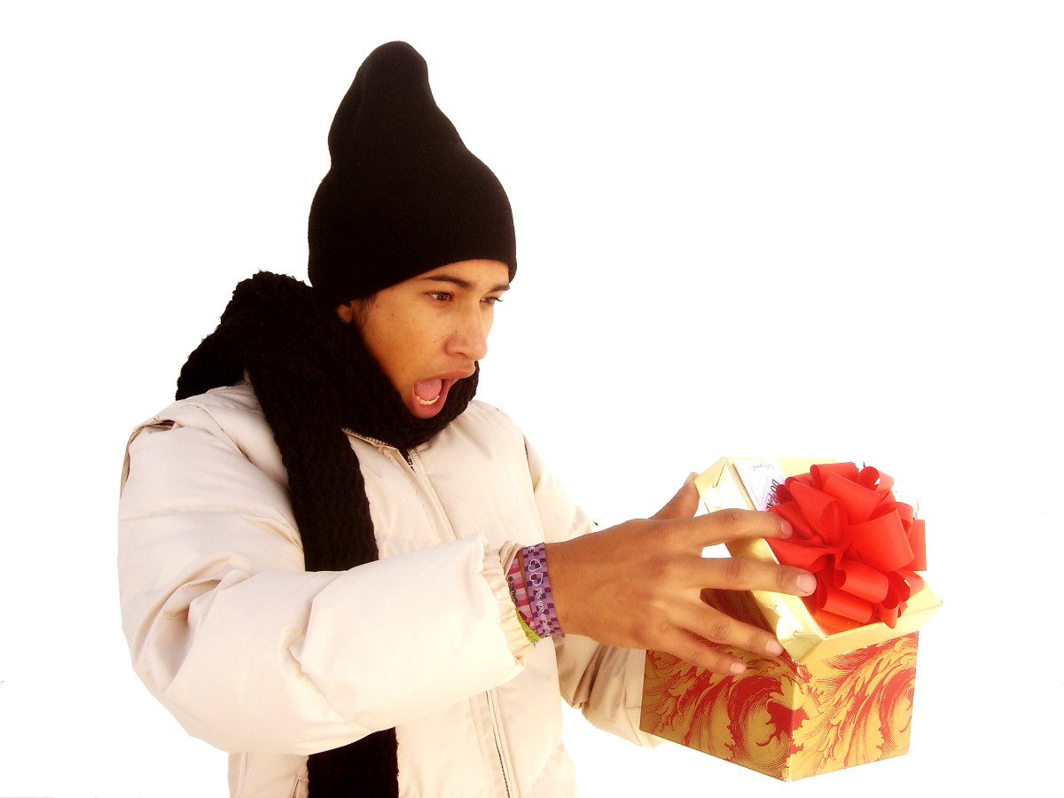 Gifts made by himself