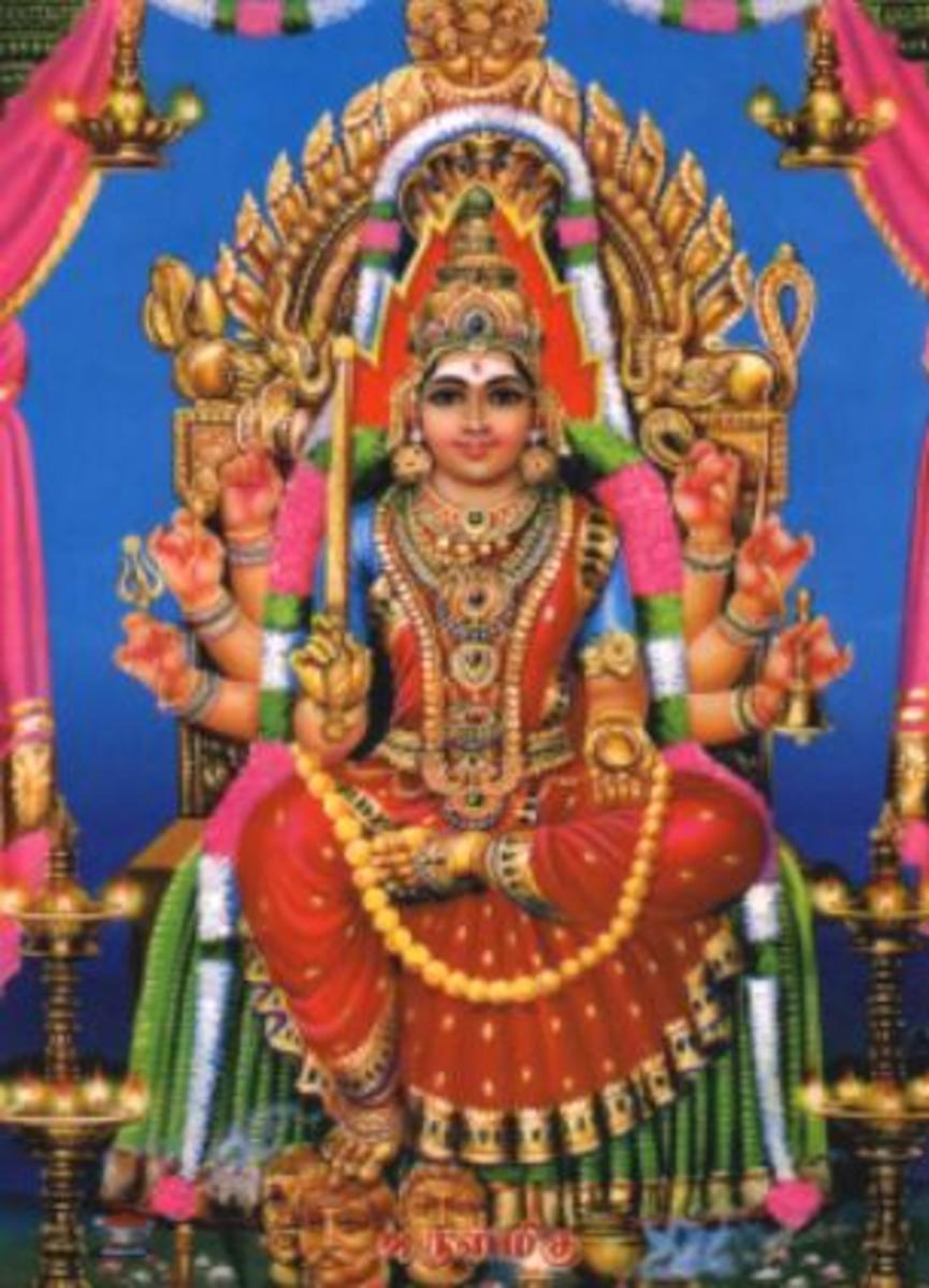 Shri Mariamman The Prominent Goddess Of Hinduism Hubpages