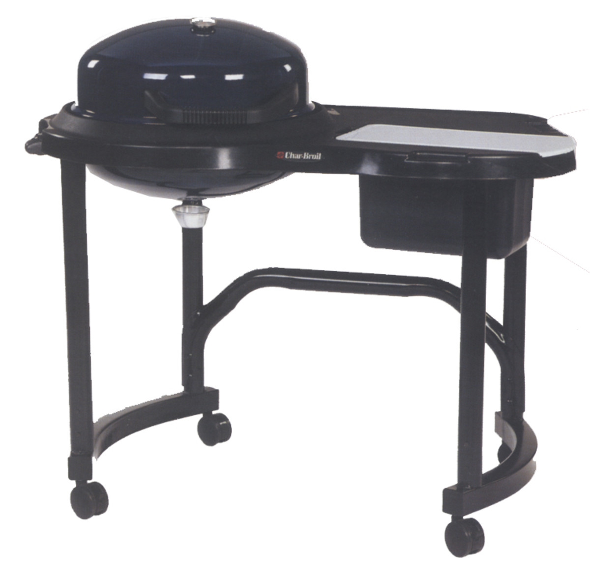 Char-broil electric patio bistro bbq with 300 sq. in. cooking surface and 1750 watt heating.