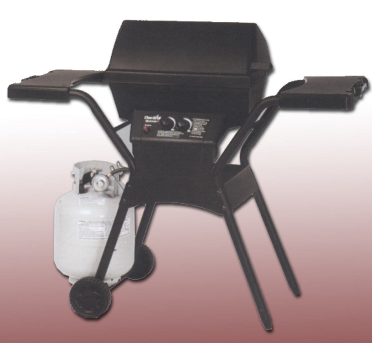 Char-broil Quickset model 4635315 uses evenflame system with vaporiser bar for good heat distribution.  Mid-range grill is very inexpensive.