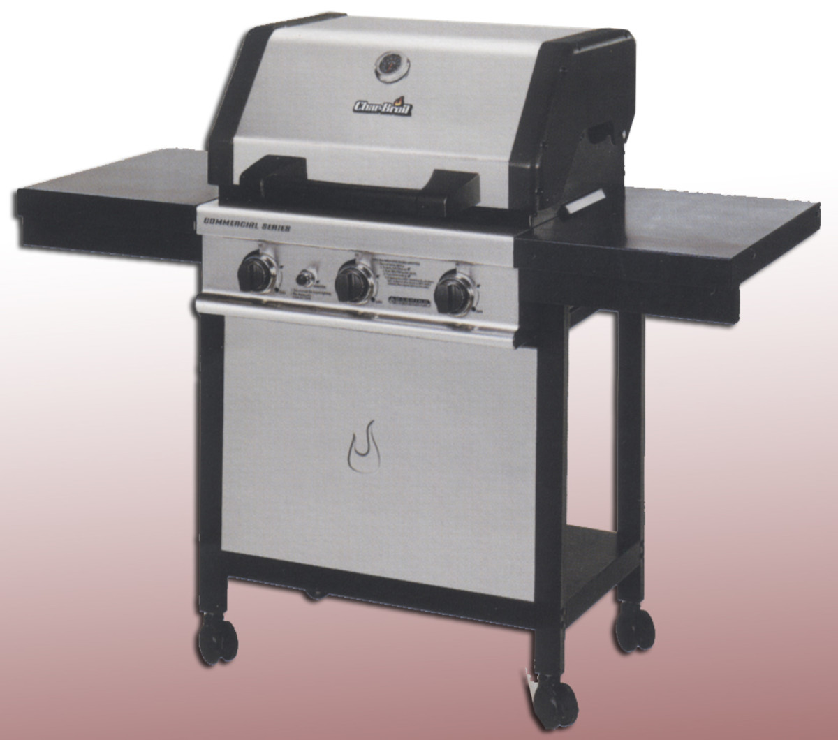 Charbroil commercial series bbq 4632210 withut the 12,000 btu side burner.