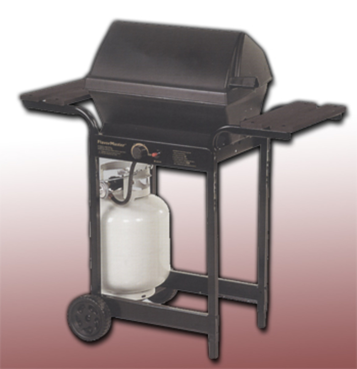 Char-broil flavormaster 4655300 with masterflame system uses ceramic briquettes to conduct heat