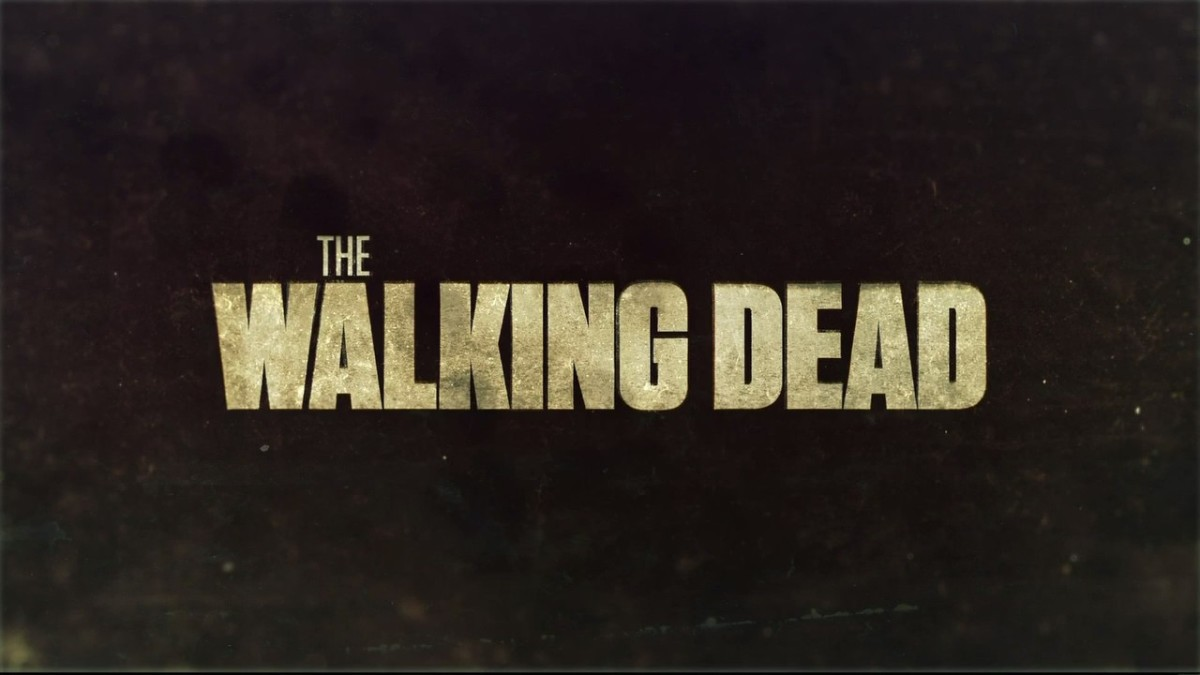 Title Card of AMC's show based on the graphic novels