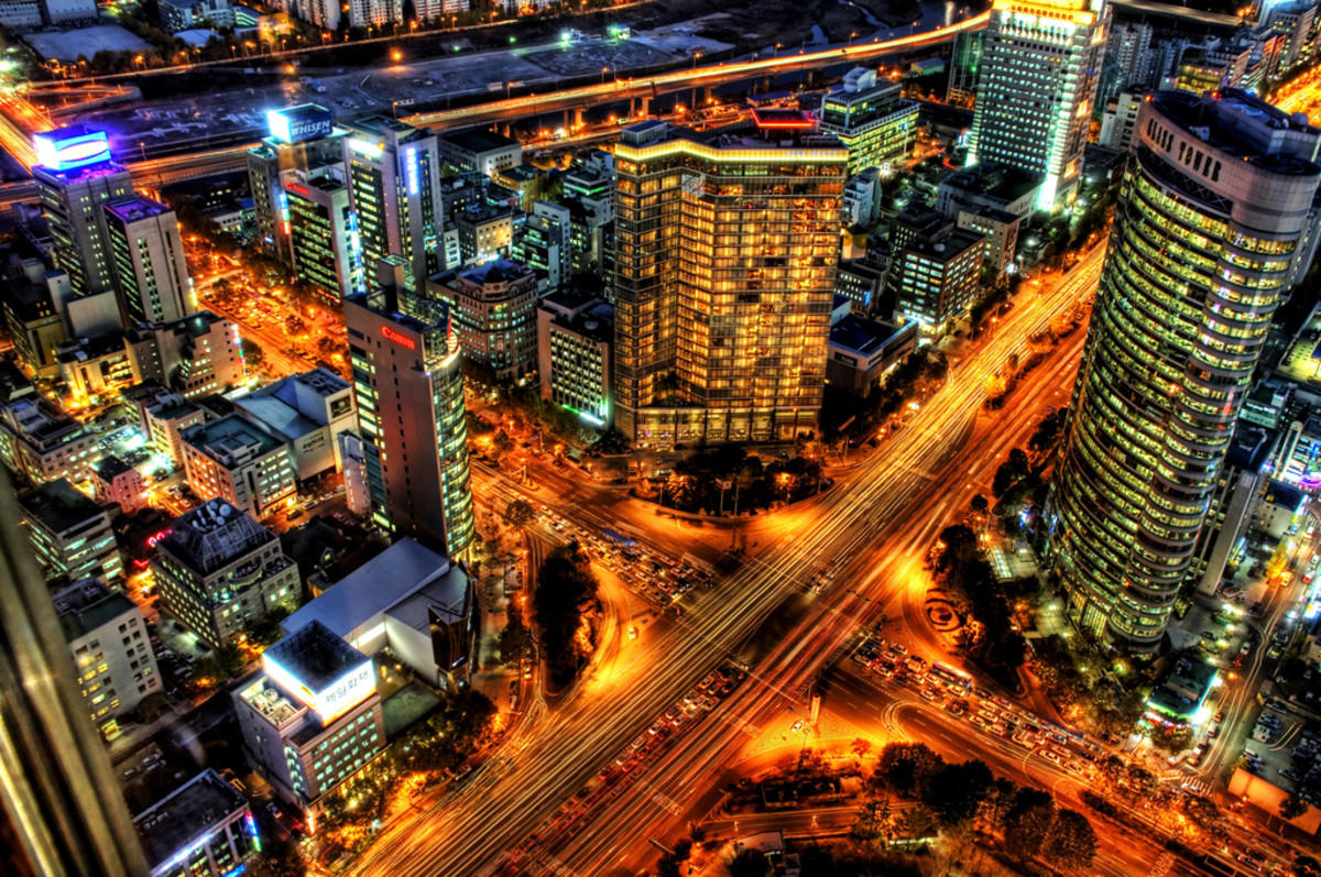 THE CAPITALISTS IN SOUTH KOREA BUILT THIS CITY