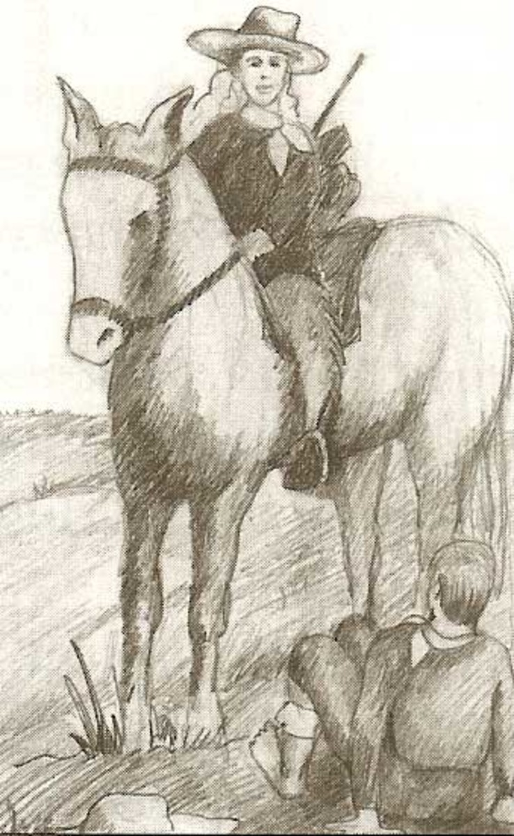 pony express coloring pages free - photo#34