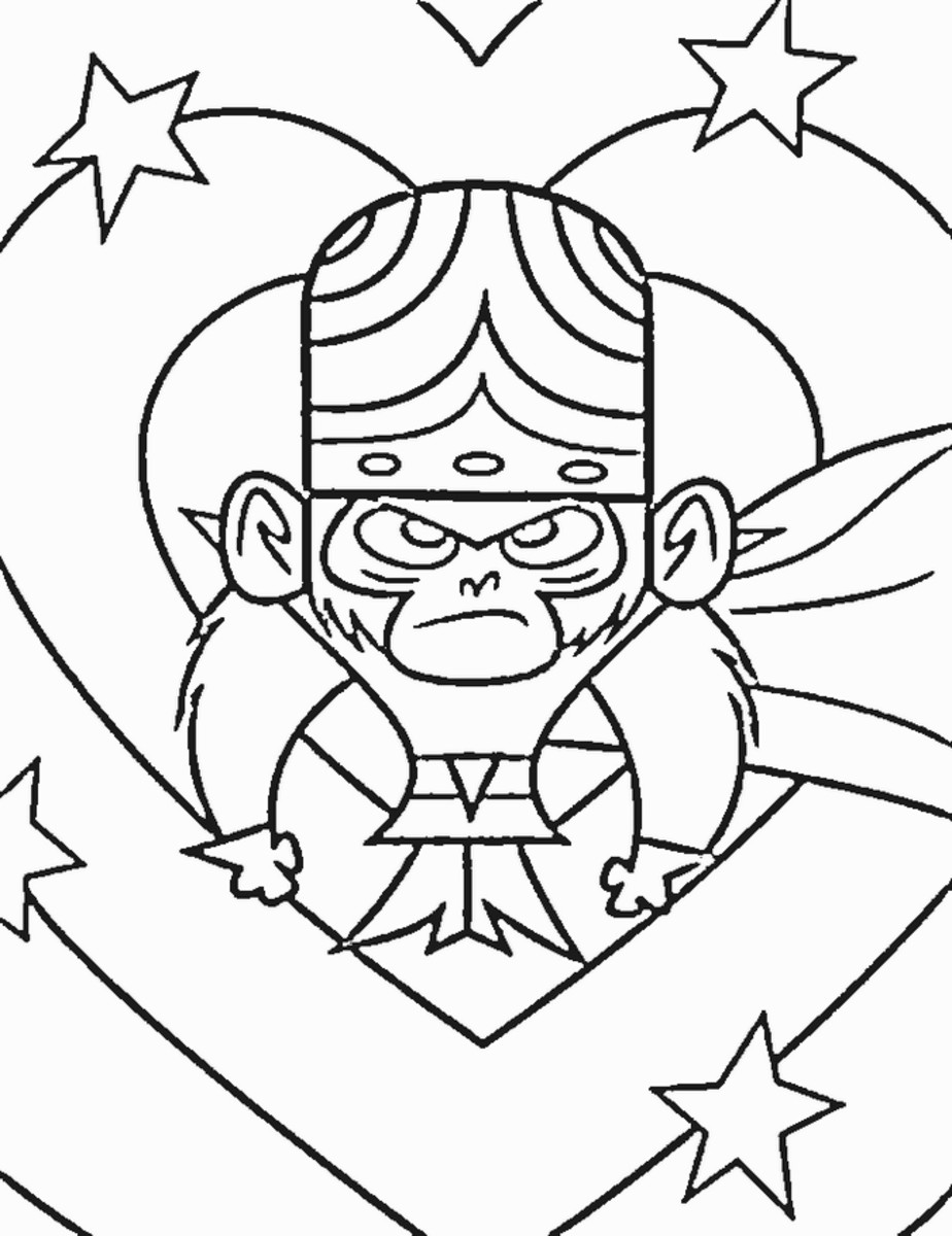 Powerpuff Girls Kids Coloring Pages and Free Colouring Pictures to Print