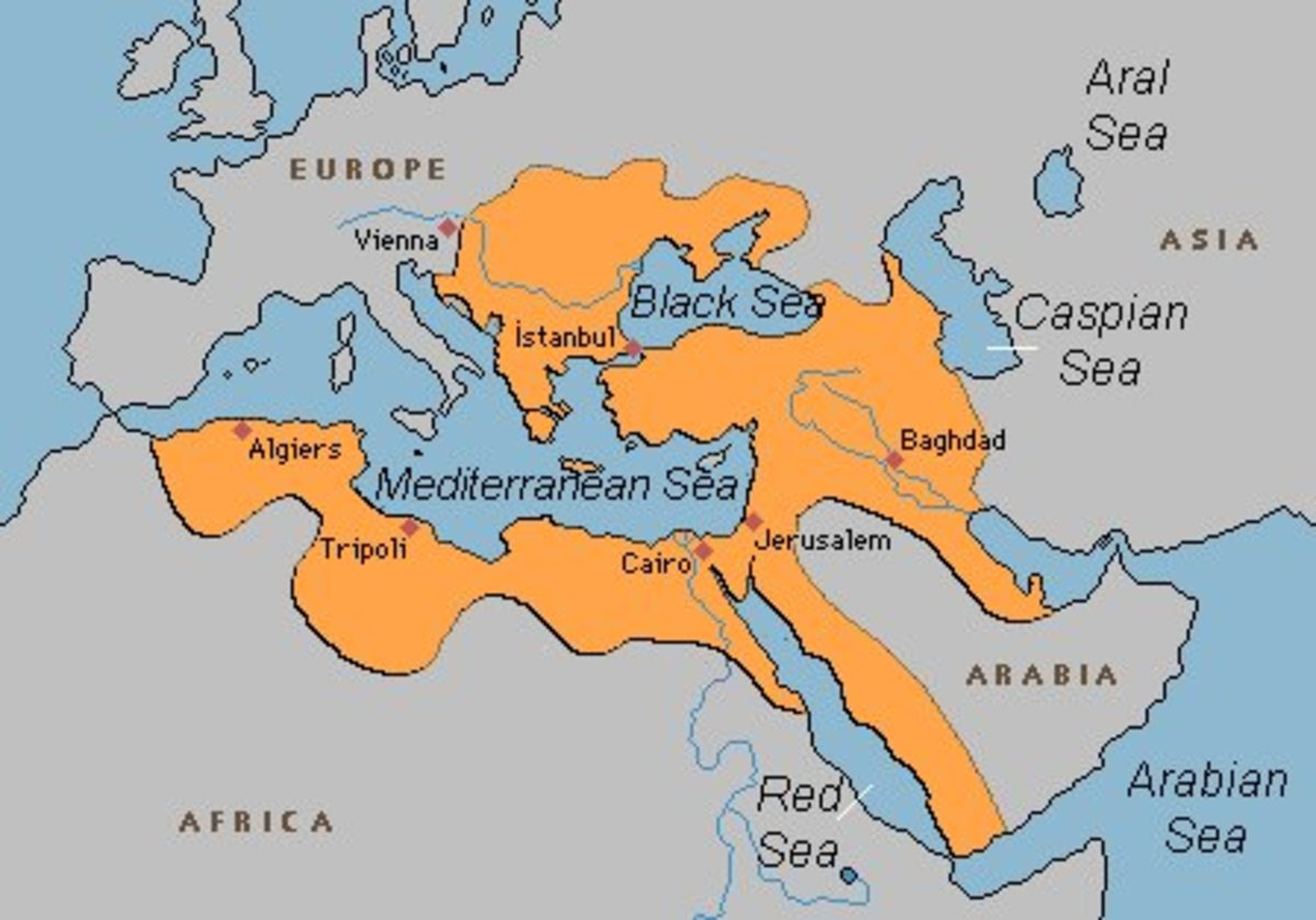 The extent of the Ottoman Empire