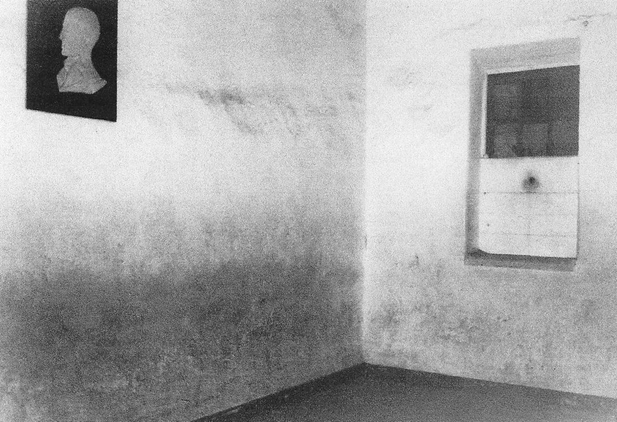 Hangman's Cell Kilmainham Jail.