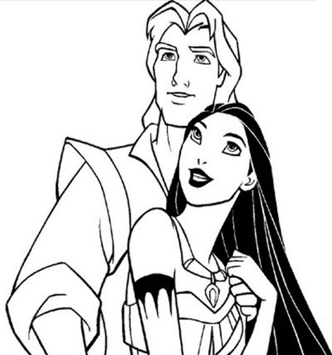 pocahontas printable coloring pages - photo#26