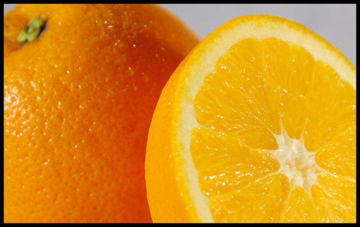 Oranges, a source of Vitamin C