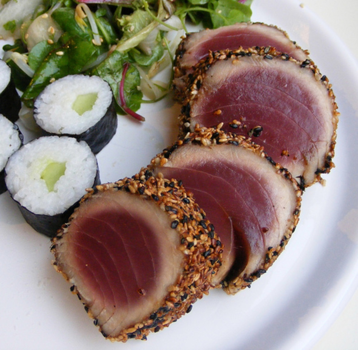Tuna is a source of Vitamin B