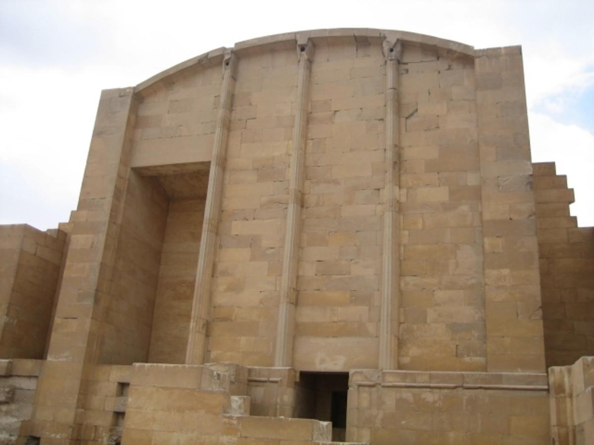 Building in Step Pyramid Complex at Saqqara