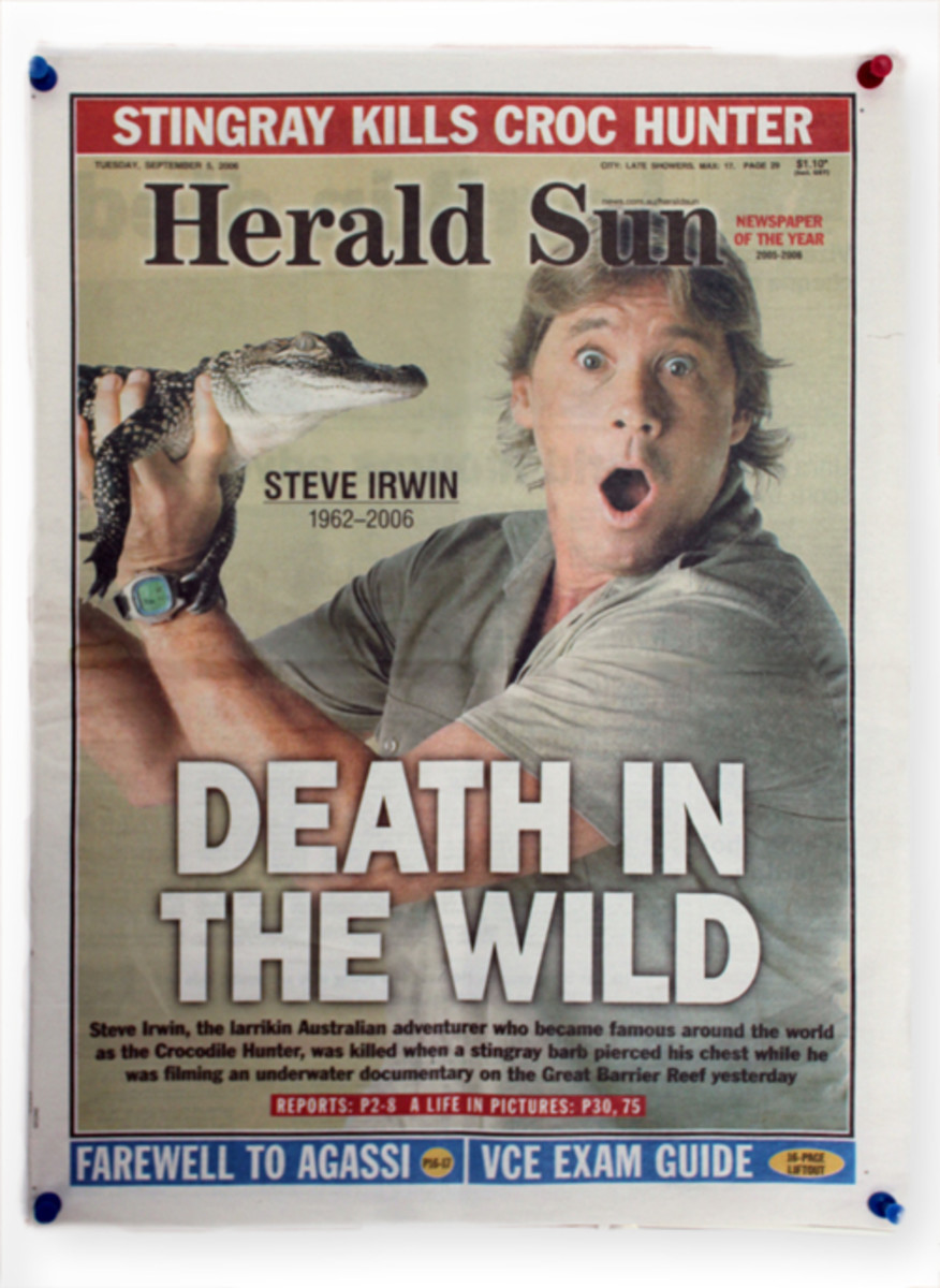 Steve Irwin - the Crocodile Hunter (Lover) of Australia