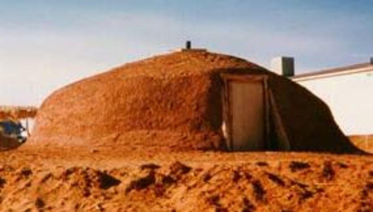Mud Hogan - A Typical Apache Home