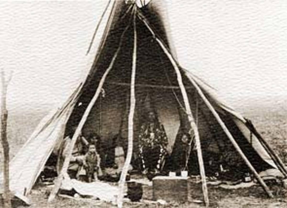 Pawnee Tipi