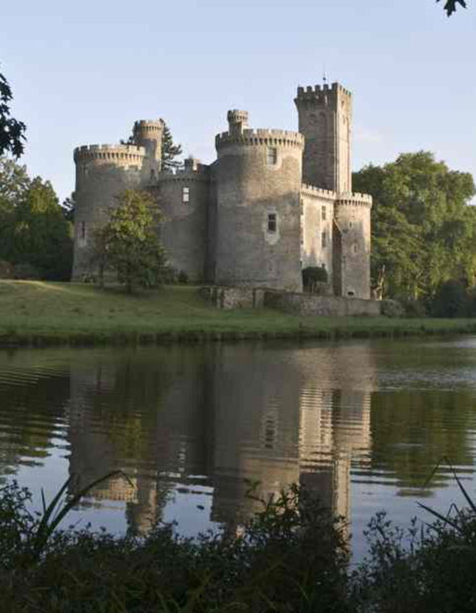 French Castles - The Chateau of Montbrun, France